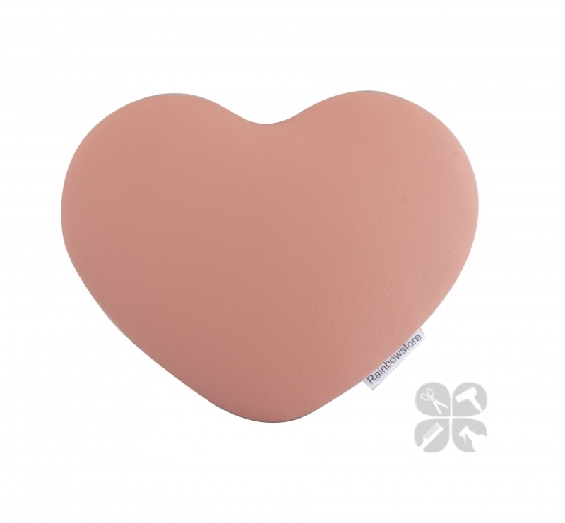 Rainbow подушка под локти мастера маникюра Heart light pink