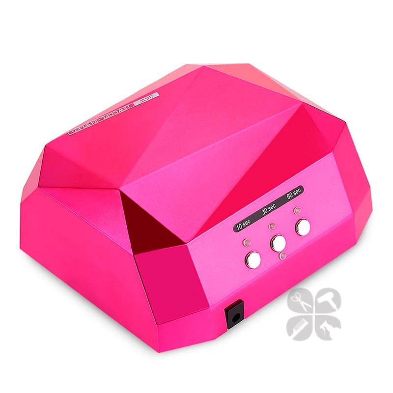 Гибридная лампа Diamond (Led 24+СCFL 12) 36W розовая