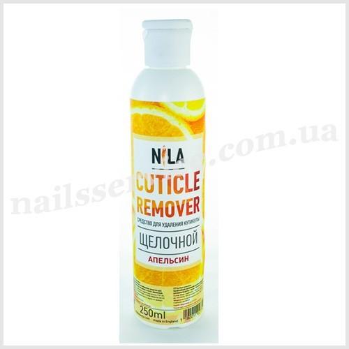 Nila Cuticle remover щелочной Апельсин, 250 мл