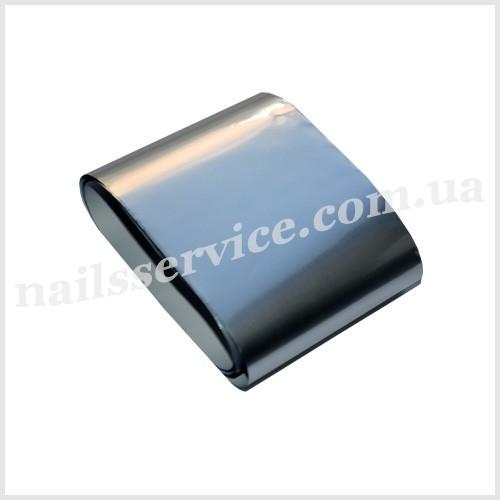 Фольга для литья матовая Германия серебро матовое №104772, 5х100 см