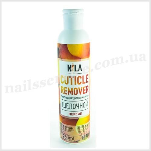 Nila Cuticle remover щелочной Персик, 250 мл