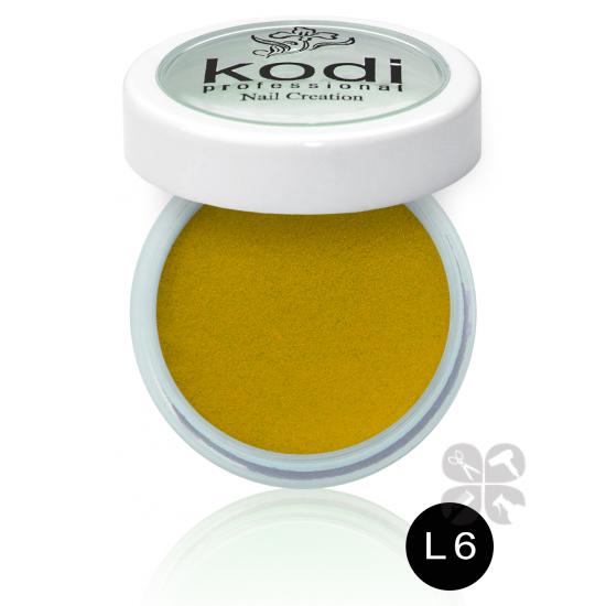 KODI цветной акрил L-6, 4,5 г