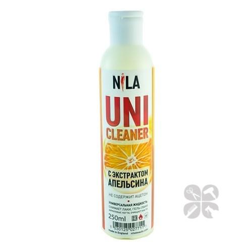Nila Uni-Cleaner Жидкость для снятия искусственных ногтей (апельсин), 250 мл