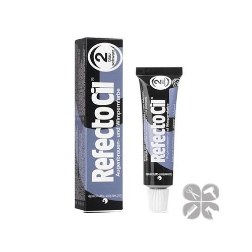 RefectoCil краска для бровей и ресниц №2 черно-синяя, 15 мл