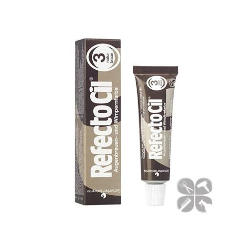 RefectoCil краска для бровей и ресниц №3 натуральный коричневый, 15 мл