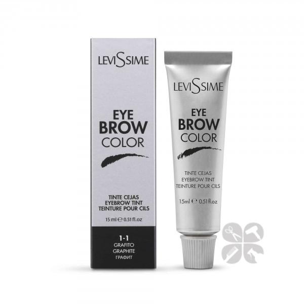 LeviSsime Eye brow color краска для бровей №1-1 графит, 15 мл