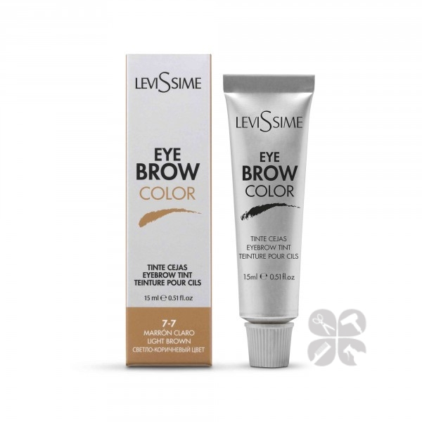 LeviSsime Eye brow color краска для бровей №7-7 светло-коричневый, 15 мл